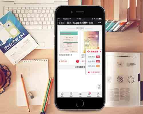 微商城开发案例西安龙之音网络科技有限公司
